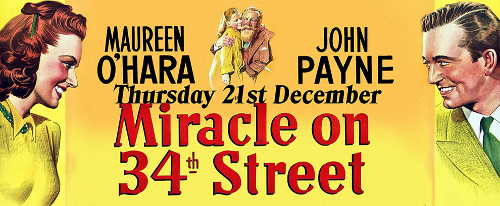 Miracle on 34th Street Original Version-  Brighouse Cinema Thursday 21st December