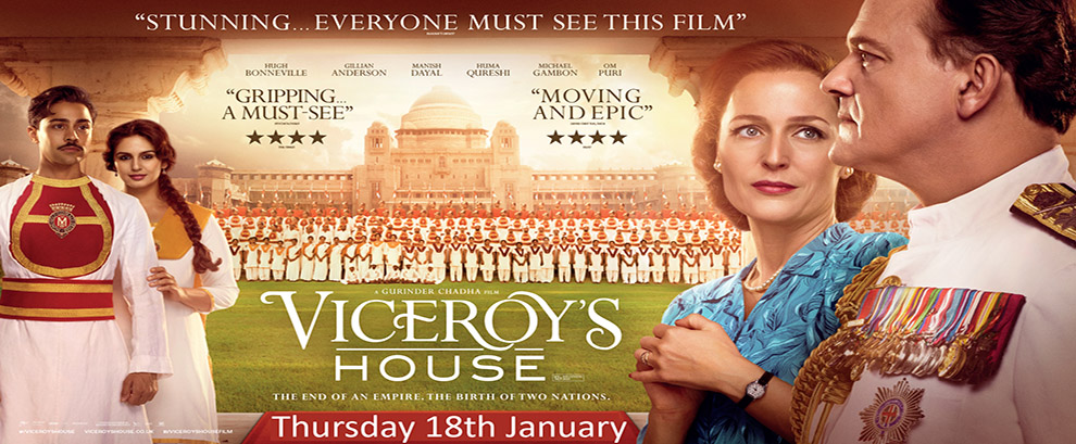 The Viceroy's House - Brighouse Cinema Thursday !8th January