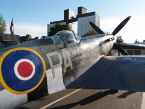 Spitfire in Brighouse